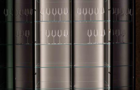 Nuancen Glas Cabinets